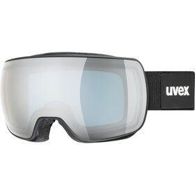 UVEX Compact FM Maschera, nero/argento
